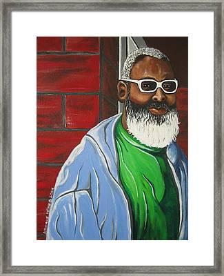 Baba Framed Print by Adrienne La Faye