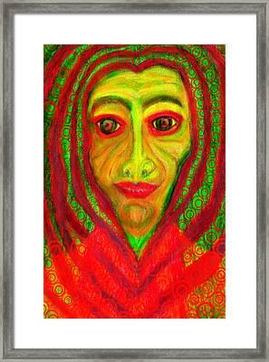 Baba Yaga Revisted  Framed Print
