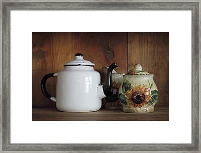 Baba's Teapot Framed Print