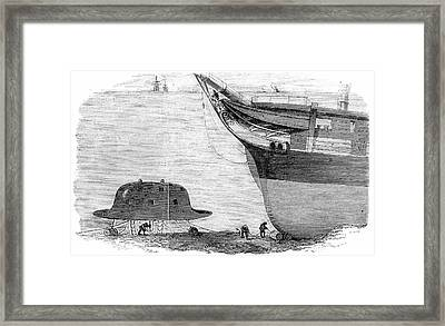 Babbage's Diving Bell Framed Print by Universal History Archive/uig