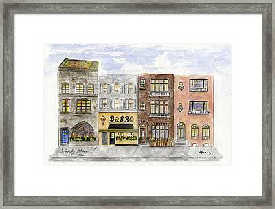 Babbo @ Waverly Place Framed Print