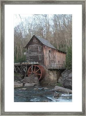 Babcock Watermill Framed Print by Dwight Cook