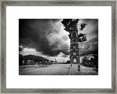 Babel Iznaga Framed Print