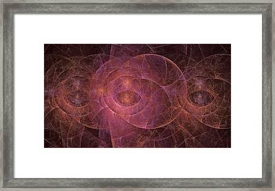 Eyes Of Bebhionn  Framed Print by Doug Morgan