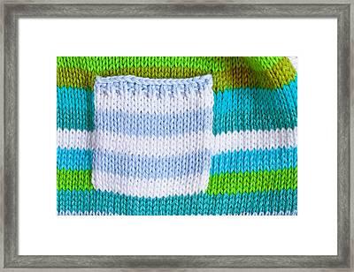Babies' Jumper Framed Print by Tom Gowanlock