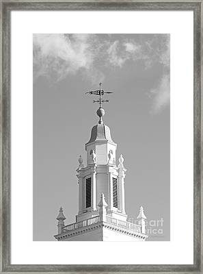 Babson College Tomasso Hall Cupola Framed Print by University Icons
