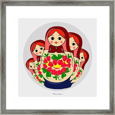 Babushka Framed Print by Mark Ashkenazi