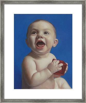 Baby Framed Print by Anny Huang