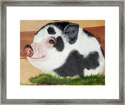 Baby Bacon Framed Print