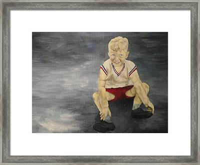 Baby Bill  Framed Print