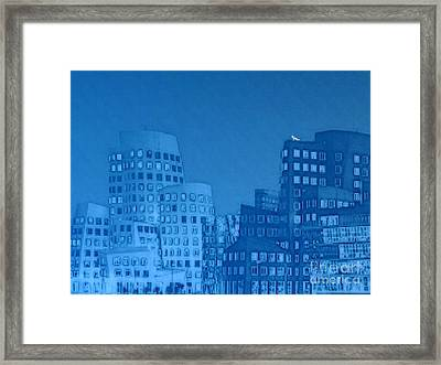 Baby Blue Framed Print by Mojo Mendiola