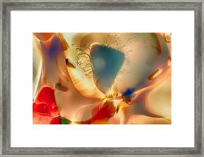 Baby Blue Framed Print by Omaste Witkowski