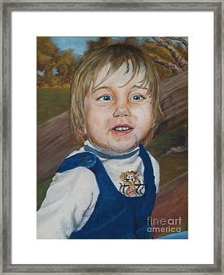 Baby Bro Framed Print