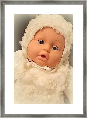 Baby Charlotte Framed Print by The Art Of Marilyn Ridoutt-Greene