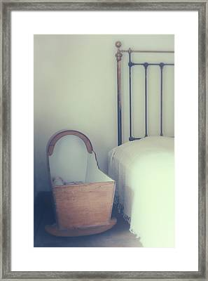Baby Crib Framed Print by Joana Kruse