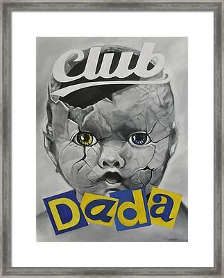Baby Dada Framed Print by Steve Hunter