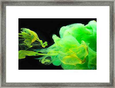 Baby Dragon - Abstract Photography Wall Art Framed Print