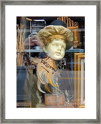 Baby Face  Framed Print
