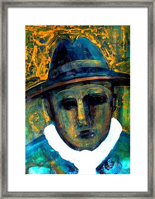 Baby Face Nelson Framed Print by Aquira Kusume