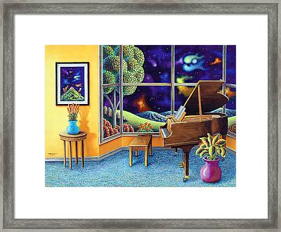 Baby Grand Framed Print by Andy Russell