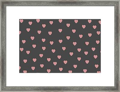 Baby Hearts Framed Print