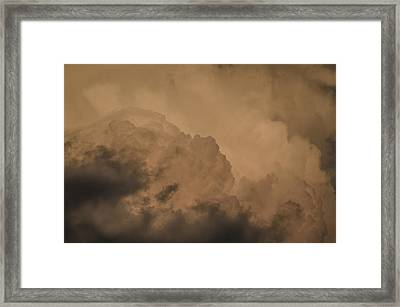 Framed Print featuring the photograph Baby In The Clouds by Bradley Clay