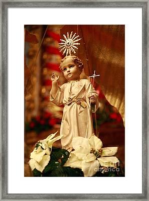 Baby Jesus Framed Print