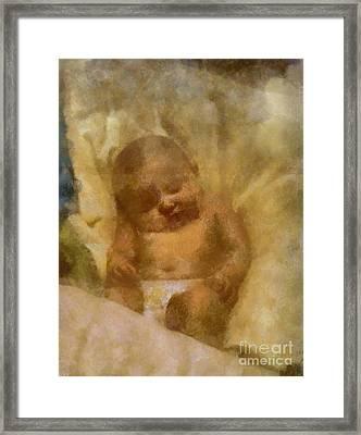 Baby Lexa Framed Print