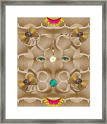 Baby Lord Ganesha Framed Print by Pepita Selles