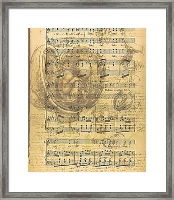 Baby Music Framed Print