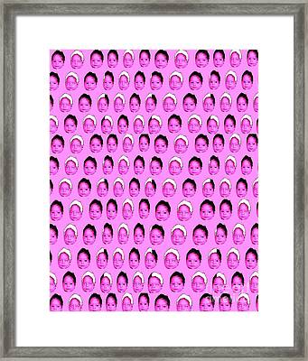 Baby Pink Framed Print by Ricky Sencion