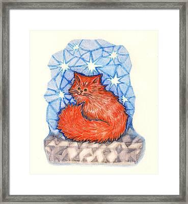 Baby Red Framed Print