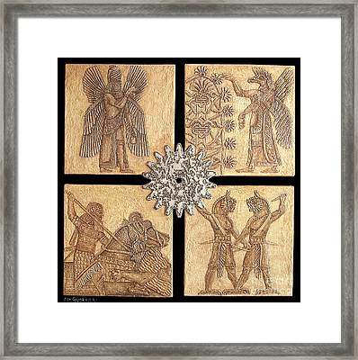 Babylon Framed Print by Anna Maria Guarnieri