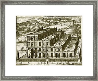 Babylon Framed Print by Asian And Middle Eastern Division/new York Public Library