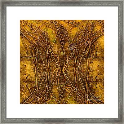 Babylon By Rail Framed Print by Mojo Mendiola