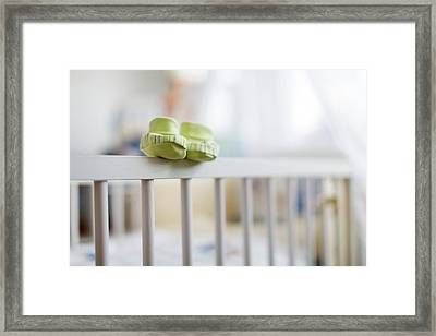 Baby's Booties Framed Print