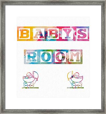 Baby's Room Framed Print by Dan Sproul