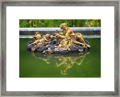 Bacchus Fountain Framed Print by Nikolyn McDonald