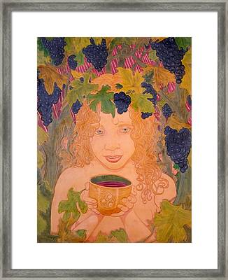 Bacchus Framed Print by Ron Moses
