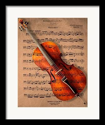 Instruments Framed Prints