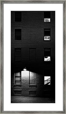 Back Alley 330am Framed Print by Bob Orsillo