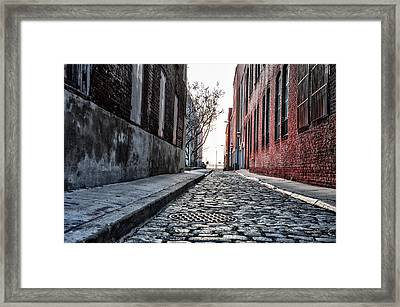 Back Alley Framed Print by Bill Cannon
