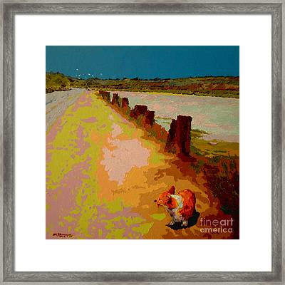 Back Bay Trail V.32 Framed Print by Max Yamada