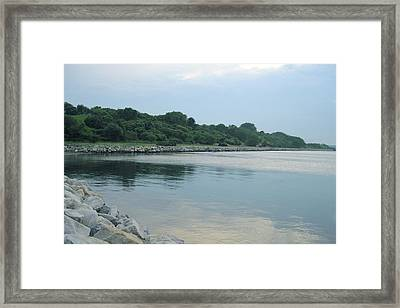 Back Cove  Framed Print by Patricia E Sundik