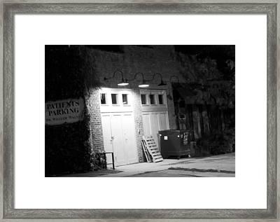 Back Entrance Framed Print by Jim Finch
