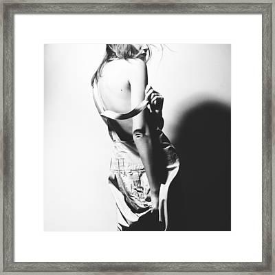 Back Framed Print by Eugenia Kirikova