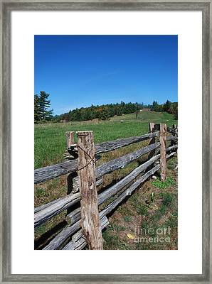 Back Forty Framed Print
