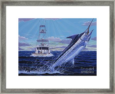 Back Her Down Off00126 Framed Print by Carey Chen