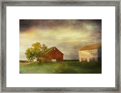 Back Home Again In Indiana Framed Print