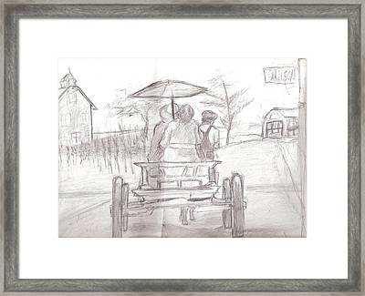 Back Home Framed Print by George Harrison
